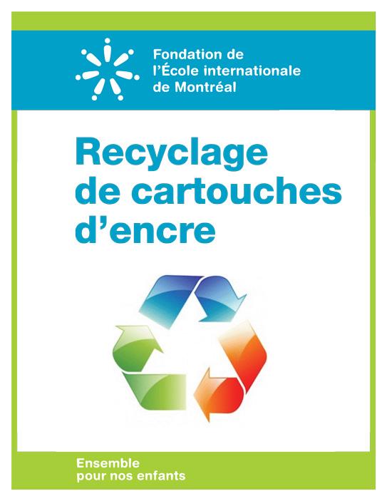Recyclage de cartouche d'encre